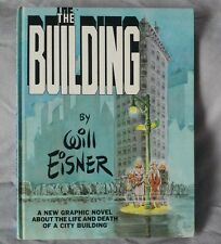The Building Hardcover Will Eisner 1987 Signed Numbered Limited Edition