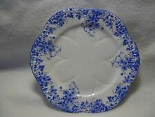 SHELLEY DAINTY BLUE BREAD PLATE IN EXCELLENT CONDITION  #051/28 6""