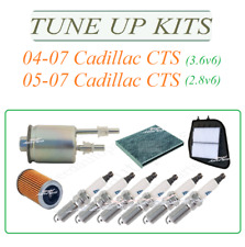 Tune Up For 04-07 Cadillac CTS 2.8 & 3.6 V6: SparkPlug Air Cabin Oil Fuel Filter