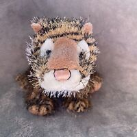 "Ganz Webkinz 8"" Tiger Brown Black Plush Stuffed Animal Toy No Code"