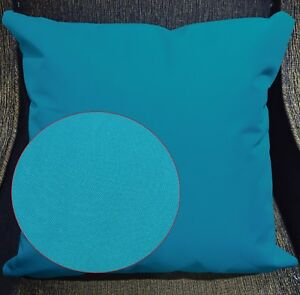 PL22a Turquoise Blue Canvas Water Proof Outdoor Cushion Cover/Pillow Case Custom