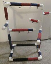 PVC Parrot Bird Play Gym FLOOR PERCH  Stand