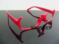 Puella Magi Madoka Magica Homura Akemi Red-Frame Cosplay Glasses