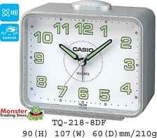 AUSSIE SELLER  CASIO ALARM DESK CLOCK TQ-218-8DF TQ218 NEW 12-MONTH WARRANTY