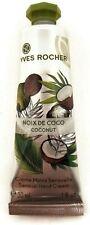 Yves Rocher Noix De Coco Perfumed SENSUAL COCONUT HAND CREAM Lotion 1 oz 30 ml