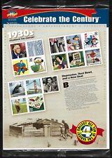 #3185 Celebrate the Century 1930's - Pane of 15 USPS Sealed