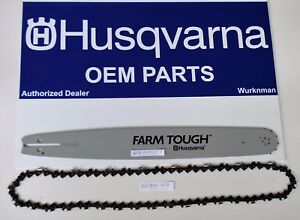 "Genuine Husqvarna Bar & Chain 20"" for 455 & 460 Rancher 585950972 & 501842672"
