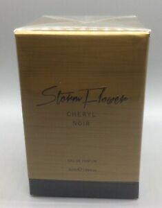 Cheryl Storm Flower Noir Eau De Parfum 50ML Spray BRAND NEW & SEALED