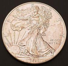 2012 American Silver Eagle 1 oz 999 Fine Silver Coin