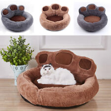 Cute Paw Shaped Puppy Pet Cat Dog Nest Bed Puppy Cave House Sleeping Mat Kennel