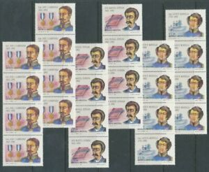 [P910] Argentina 1992 famous people set very fine MNH stamps (8x) val $35