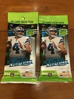 Lot Of (2) 2020 Panini Absolute 20 Card Pack Value Pack NFL Football Brand New