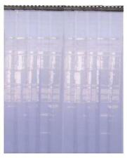 More details for pvc refrigeration strip curtain door strip 2.5 meter drop 2mmx 200mm wide one
