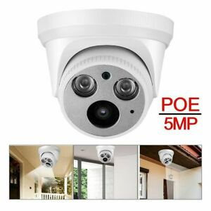 5MP Home Security Camera IP POE Survelliance Waterproof Night View APP Control
