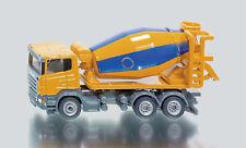 SIKU 1896 SCANIA LKW Truck Mixers Yellow Blue 1 87