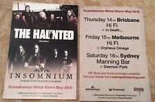 Small FLYER ONLY The Haunted And Insomnium Tour May 2015