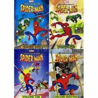 Dvd SPECTACULAR SPIDER-MAN 1-2-3-4 (4 Dvd)   sigillato