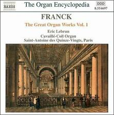Franck: The Great Organ Works Vol. 1, New Music