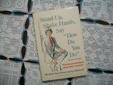 "Stand Up, Shake Hands, Say ""How Do You Do"" (Stewart and Ann Buchwald, 1977 HCDJ)"