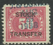 U.S. Revenue Stock Transfer stamp scott rd9 or rd36 - 50 cents issue of 1918-22
