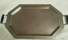 Art Deco Copper/Silver Tone Overlay  Universal Frary & Clark Tray