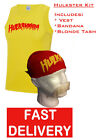 HOGAN HULKAMANIA HULK FANCY DRESS WRESTLING WRESTLER VEST, BANDANA & 'TASH