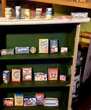 1:3 American Girl Doll Food 25pc Miniature Pantry Accessory Paper Handmade