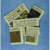 Dolls House Newspapers 12th Scale D2054