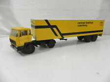 LION CAR 1/50 N° 28 Camion tracteur DAF remorque CENTRAAL BOEKHUIS CULEMNBORG