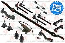 For Chevy K1500 Tahoe 1996 to 1999 Center Link Tie Rods Ball Joints Pitman Arm