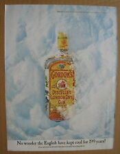 1968Gordon's Distilled London Dry Gin Color AD