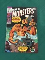 Where Monsters Dwell 10 VF+(8.5) White Pages