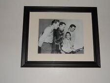 Large Framed 1956 Million Dollar Quartet Elvis,Carl,Johnny Cash,Jerry Lee Lewis