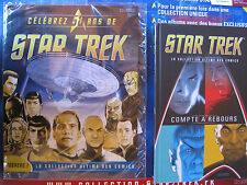 Star Trek Buch Comic mit Begleitheft (France) Raumschiff Enterprise in Folie RAR