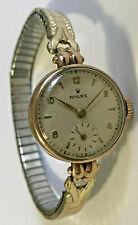 Vintage 9ct Gold Rolex Ladies Watch Worlds Records