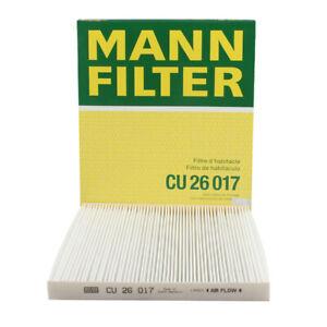 Mann-filter Cabin Air Filter CU26017 fits HYUNDAI SANTA FE DM 2.2 CRDi 4WD