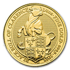2018 Great Britain 1/4 oz Gold Queen's Beasts The Bull - SKU#163306