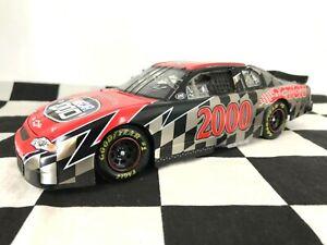 2 AUTOGRAPHS! 1:24 Jeff Gordon Fantasy Car NASCAR 2000 Chevrolet Brushed Metal