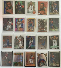 Stephon Marbury Premium Rookie/RC Card Lot (Youthquake, SPx Gold, E-X2000 etc.)