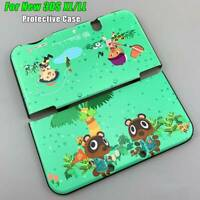 For Nintendo 3DS XL/ LL Animal Crossing Protective Hard Shell Case Cover New