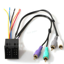 Stereo Radio Wire Harness Amp Integration for MERCEDES-BENZ C-Class 1994-2000