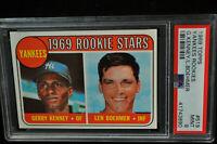 1969 Topps - Yankees Rookies - #519 - PSA 9 - MINT