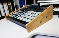 SOLID OAK END CHEEKS / STAND FOR NATIVE INSTRUMENTS MASCHINE MK2 SYNTHS AND WOOD