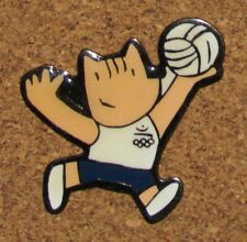 A33  PIN COBI MASCOTTE OLYMPIC OLYMPIQUE VOLLEYBALL