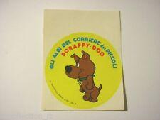 ADESIVO anni '80 / Old Sticker Vintage SCRAPPY-DOO corriere dei piccoli (cm 9)