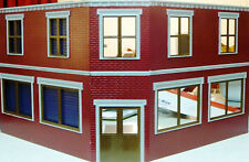 SAVINGS & LOAN G 1:24 Model Railroad Unpainted Styrene Bank Structure Kit CMS12