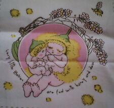 Sweet GUMNUT BABY Fabric Panel Patches ( 7.5cm x 7cm) #8