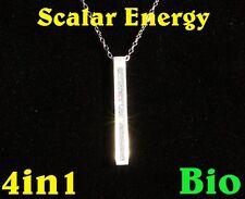 Potente Quantum Scalar Energy Pendant Necklace Magnético saldo cadena de energía