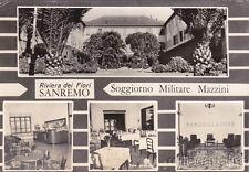 * SANREMO - Soggiorno Militare Mazzini 1971