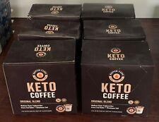 New listing Keto Rapid Fire Coffee Original Medium Roast Coffee Pods - 16ct, Lot Of 6 Boxes